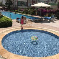 10 minutes walk to the beach, 1+1 residence, Antalya