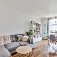 Beautiful spacious apartment *La Villette*