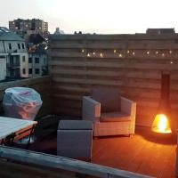 Bright and cosy appartment with rooftop terrace