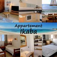 Appartement sur la plage, avec vue panoramique sur le lagon - IKABA