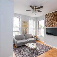 Bright & Airy 1BR , 1 Mile From Hoboken Waterfront