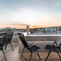 Нові апартаменти з великою терасою