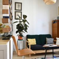 Modern & Bright Studio Near Père Lachaise