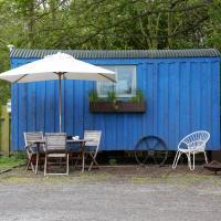 Blue Cabin - Shepherds Hut
