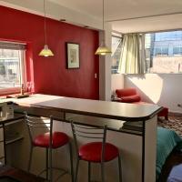 Bright, open view studio at Reconquista 870