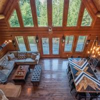 Log Cabin/Spa/Nature/Near Mont Tremblant/ 16 Person