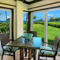 Waipouil Beach Resort Exquisite Ocean Front Condo in Oceanfront H Building Sleeps 8 AC Pool