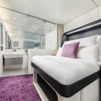 YOTELAIR Amsterdam Schiphol Transit Hotel, hotell sihtkohas Schiphol lennujaama Schipholi lennujaam - AMS lähedal