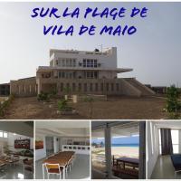 Maison sur plage de Maio