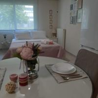 PERFECT LOCATION-SUNNY, CENTRAL, MODERN STUDIO APPARTMENT NEXT TO THE PARK OF MATSOPOULOS AND THE TRAIN STATION
