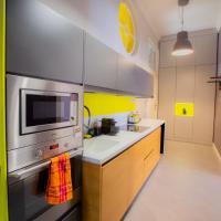 Art Mosoiu Yellow Luxury Apartment