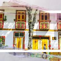 Pijao, Quindio. Casa de los colibríes