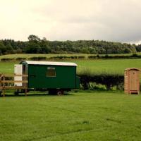 Shepherds Hut in Bath
