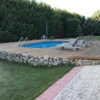 The pool access