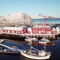 SUPER cozy fisherman cabin/RORBU at Lofotens best spot
