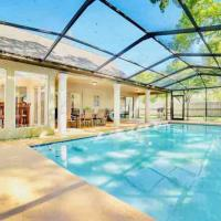 Tampa Hotspot*Private Pool In Quiet Neighborhood* Near USF, Busch Garden Adventure Island with Game Rooms*