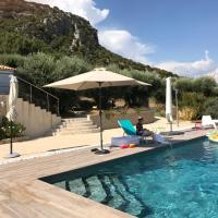Luxury air-con Villa, heated pool, stunning views, nearby a lively village