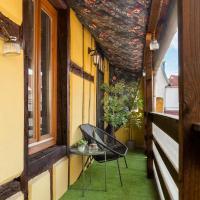 TH - Pandore - Colmar City Center - Balcony