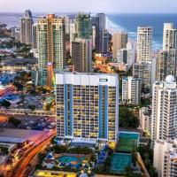 Hotel studio with ocean view at Surfers Paradise (L9)