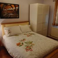 A clean room in a smart comfortable house