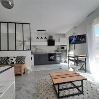 Design loft Studio 4 places piscine et parking