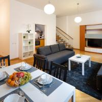 Old Riga Two floor Palasta Loft Apartment with river view