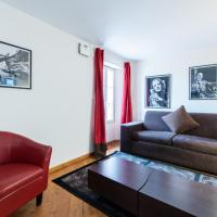 Lovely 1 Bed Apt, Sleeps 4 in vibrant Le Suquet