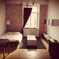 Compact studio in old town house