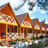 Морская деревня,деревянные домики, 1 линия