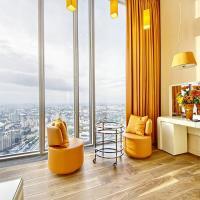 Sky Grand Studio Romantic Paradize - 64 floor OKO tower