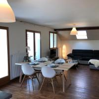 Sunny and modern duplex apartment in Geneva