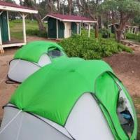 Private campsite with full self guided camping gear set, mobile unlimited wifi hotspot, security, free parking.