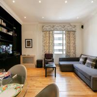 1-Bedroom Flat W/Elegant Living Room in Marylebone