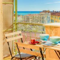 2 pièces port de Nice vue mer