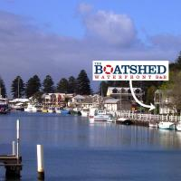 the boatshed waterfront b&b