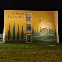 Hotel La Toscana Nähe Europapark, hotel a Ringsheim
