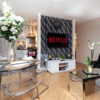 2 Bedroom 2 Bathroom Apartment in Central Milton Keynes with Free Parking and Smart TV - Business, Contractors, Relocation