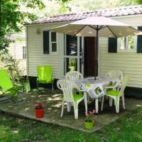 Mobile home dans camping 4 étoiles