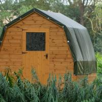 Rum Bridge Fisheries Family Glamping Pods