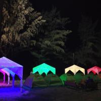 Bakel beach tent camping