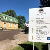 Backbyn Kartano, hotel in Espoo