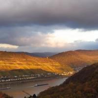 Schau-Rhein#2 - on Top of Bacharach, Rhineview
