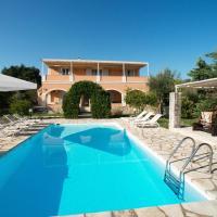 Kassiopi Villa Sleeps 10 Pool Air Con WiFi