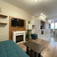 Bliss luxury apartments with fireplace