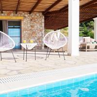 Kleismata Villa Sleeps 6 with Pool Air Con and WiFi