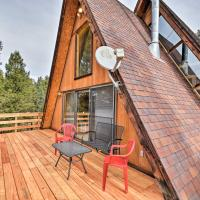 A-Frame Cabin w/Mtn Views - 4 Mi to Cripple Creek!