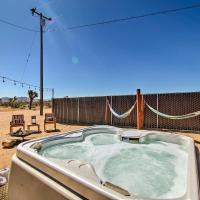 Home w/Hot Tub, Hammocks, Free Pass to Joshua Tree