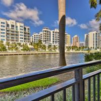 NEW! Waterfront Aventura Condo - 10 Mins to Beach!