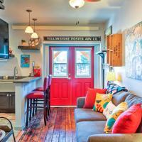 Walkable Studio Apartment in Downtown Livingston!