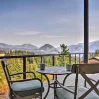 NEW! 'Gorge Retreat' Carson Home w/Stunning Views!